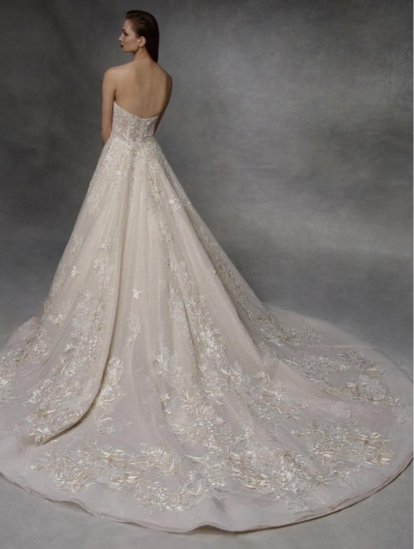 Badgley Mischka Wedding Dress Collection Archive Bridal,Wedding Dresses With Deep V Neck